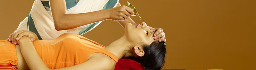 Nasyam Ayurveda Therapy for Sinusitis